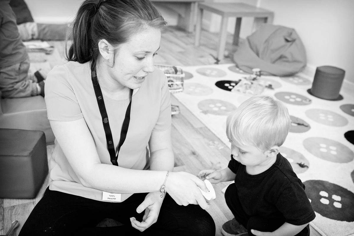 Nursery Practitioner Erin Fryar