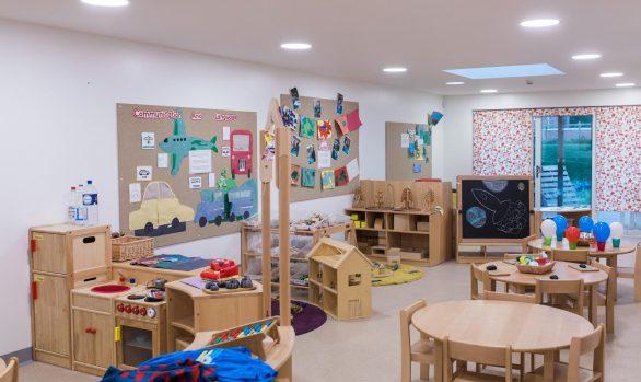 Muddy Boots Nursery Adventurers Room