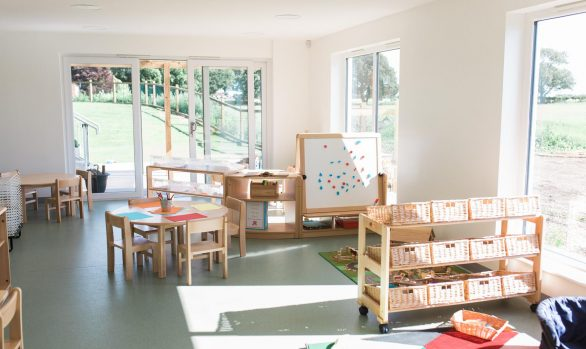 Muddy Boots Nursery Investigators Room
